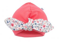 Dívčí čepička turban New Baby For Girls - Dívčí čepička turban New Baby For Girls
